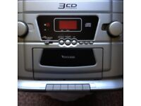 Venturer 3 CD Changer Home Hi Fi Player