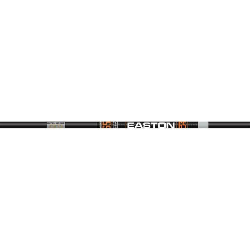 Easton - 6.5 Match Grade - Bare Shaft - 340 - 12 Pack