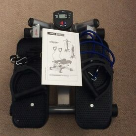 Stepper & 2x resistance bands & instructions - excellent condition