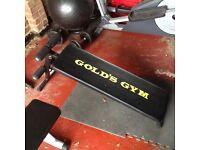 Gold's Gym Abdominal Board
