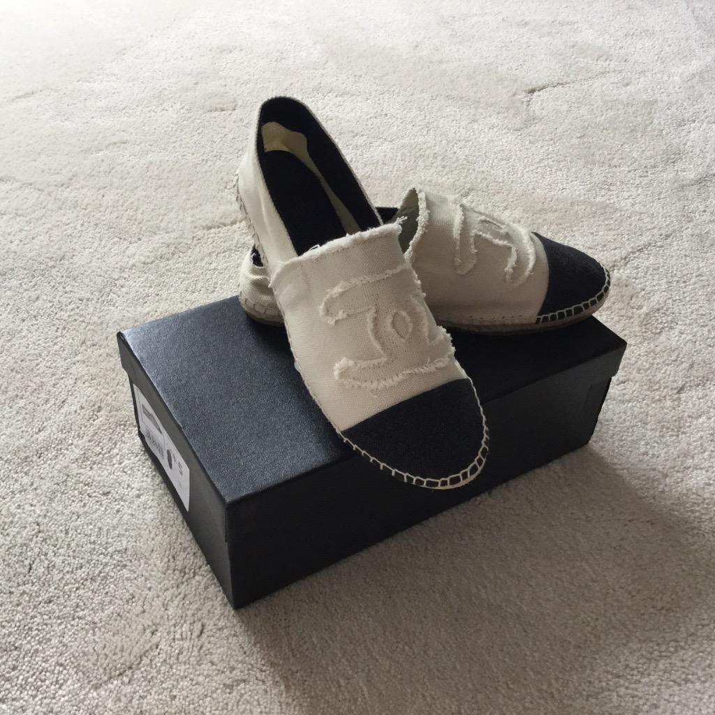 Chanel Espadrilles Flats Shoes UK 4.5 | In Peterborough Cambridgeshire | Gumtree