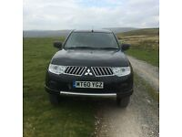 MITSUBISHI L200 4 LIFE PICK UP TRUCK 4x4 DOUBLE CAB - MILEAGE 93500 - 10 MONTHS MOT - GOOD CONDITION