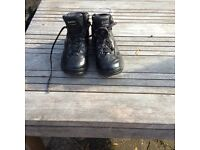 Hi Tec hiking boots. Black. Size 3 (36)
