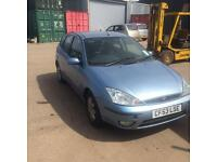 2003 Ford Focus 1.6 16v breaking for spares