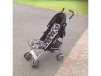 Pushchair O'Baby Black - excellent condition