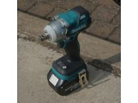 MAKITA DTW281Z 18 VOLT IMPACT WRENCH