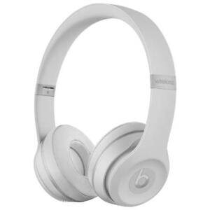 Beats by Dr Dre Solo3 Wireless On-Ear Headphones - Matte Silver / Black - BRAND NEW SEALED