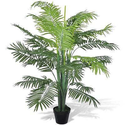 """51"""" Artificial Phoenix Palm Tree Fake Plant Potted Home Decor Patio Arrangement"""