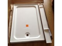 Shower tray 1200 x 760 New