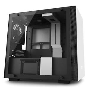 NEW NZXT H200i Mini-ITX Computer Case with Smart Device Matte White/Black