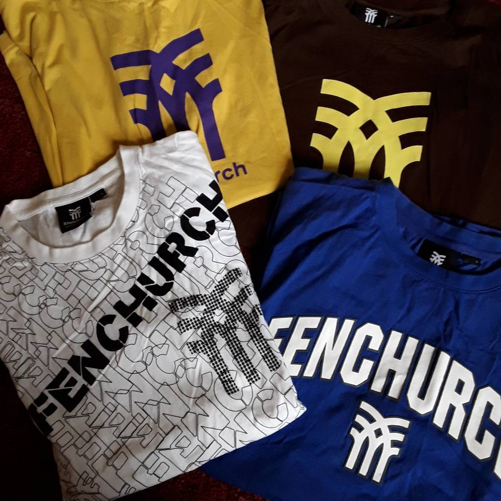 Mens Fenchurch t-shirts large size all four hardly worn
