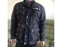 Weise men's motorcycle belted outdoor sports pro jacket, large, worn once, very good condition