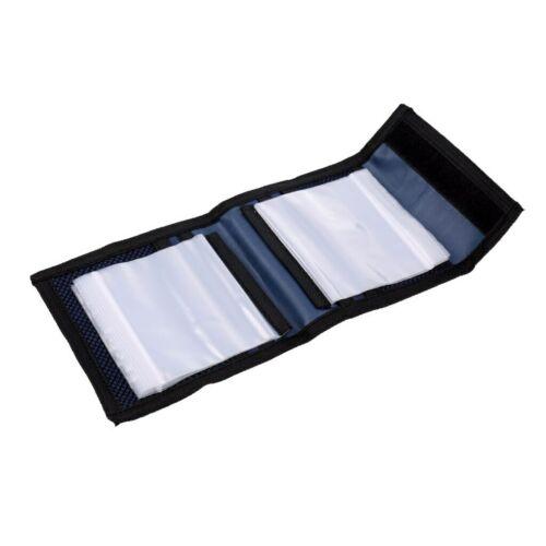 Fly Fishing Leader Wallet 12 Removable Sleeves Pocket Tapered Leader Line