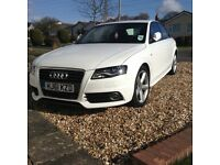 Audi A4 SLine 170bhp start stop. 50100miles, Full Audi Service History, lots of extras