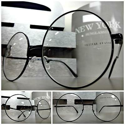 ößen Waldo Style Durchsichtige Linse Brillen Rund Schwarz Mode (Waldo Zubehör)