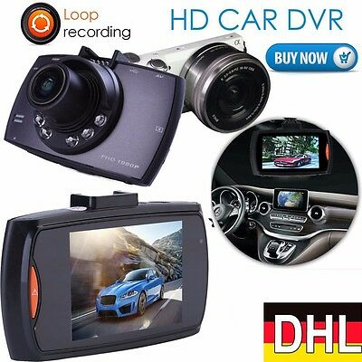 2 3 auto kamera full hd 1080p dashcam recorder kfz dvr. Black Bedroom Furniture Sets. Home Design Ideas