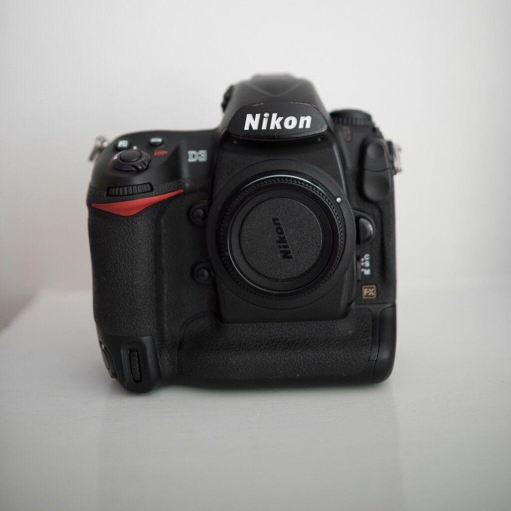 Nikon D3 Full Frame DSLR Camera Body   in Barnes, London   Gumtree