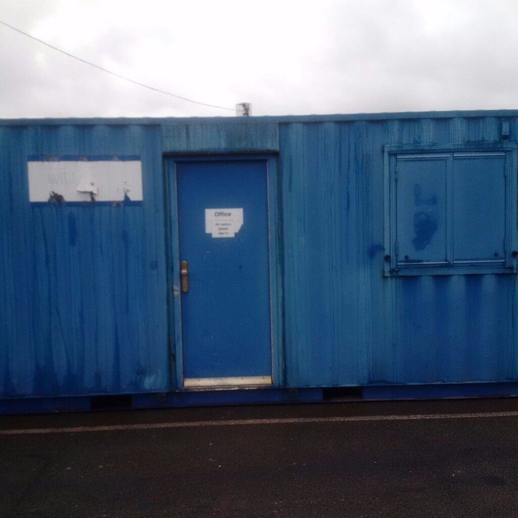 20' Cabin Container - Anti Vandal Site Office