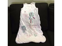 Baby Girl Sleeping Bag – 0-6 Months – Very Good Condition