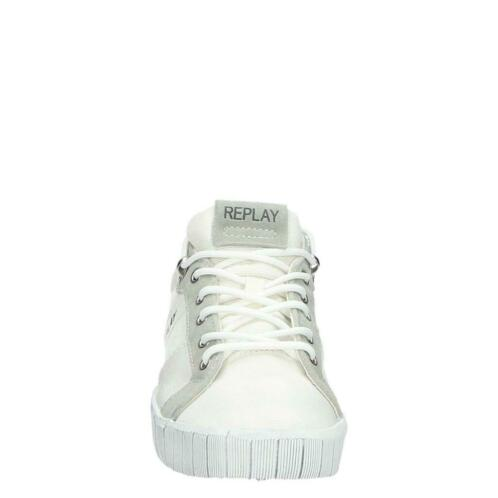 63c62fb6403 undefined. undefined. undefined. undefined. undefined. 7 foto's. Replay  lage sneakers wit