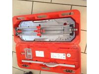 Rubi TX 700 tile cutter excellent condition not done much work no offers as worth cost