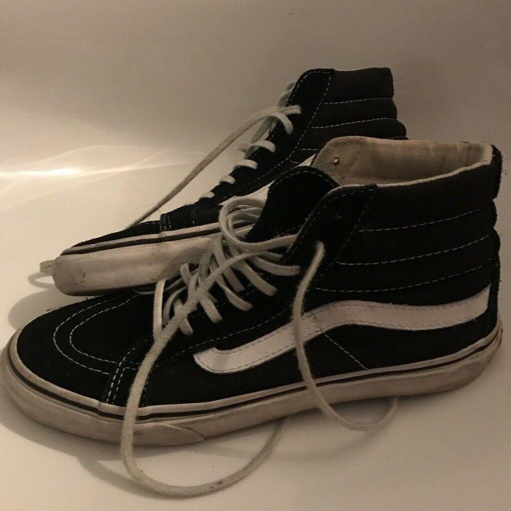 4cd6208b11 Vans Old Skool Black And White Size 5