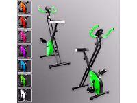X-Bike Exercise Bike Folding Magnetic Cardio Fitness Workout Machine