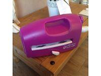 Purple Spellbinders Grand Calibur Machine with Extras £50