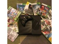 XBOX 360 ELITE 250GB bundle boxed in excellent condition + 14 games