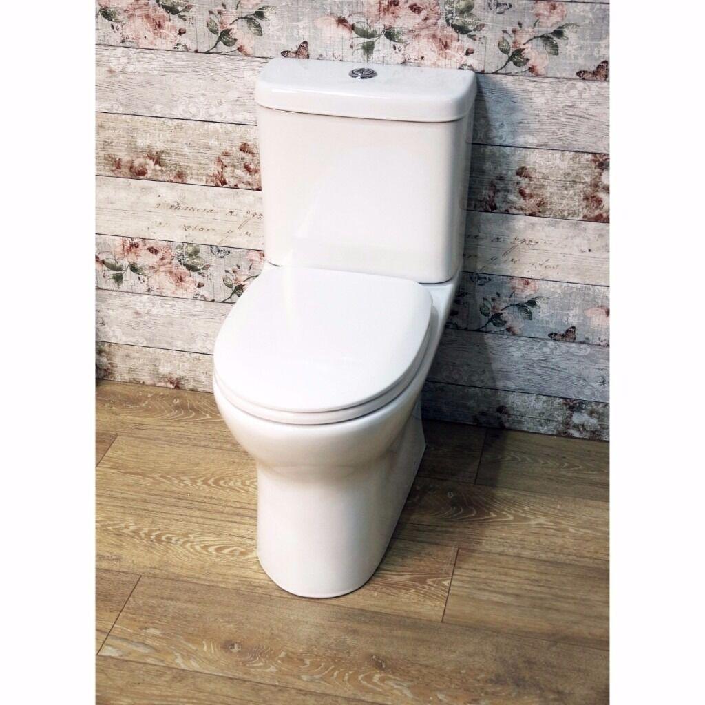 Libra Modern Easy Clean Rimless Toilet