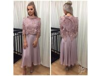 Una rodden mother of bride dress size 8