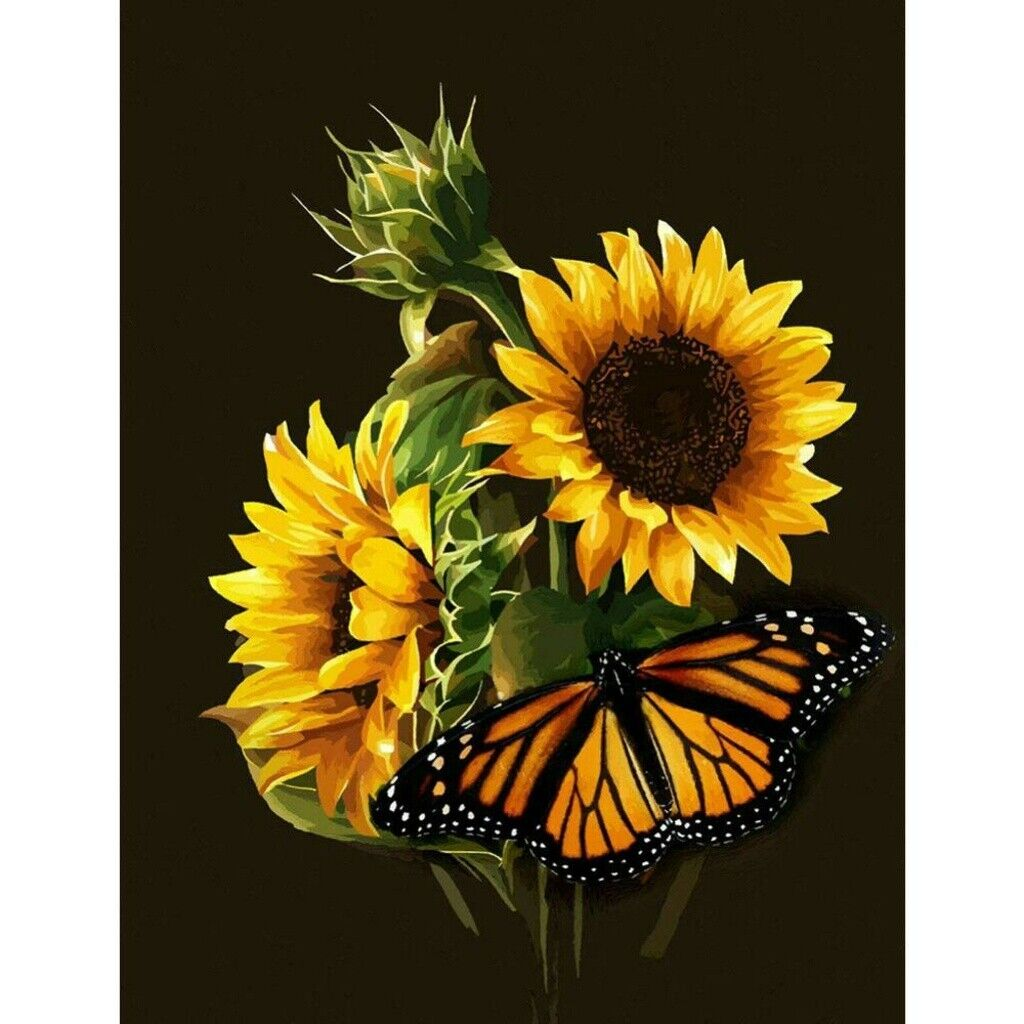 Full Drill sunflower DIY 5D Diamond Painting Kits Home Decoration Hobby Art