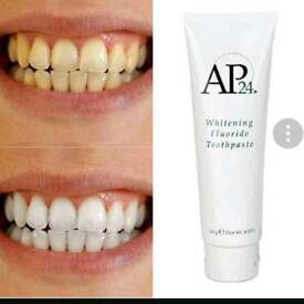 AP-24 whitening fluoride toothpaste (RRP £11) Pre order and pay on collection