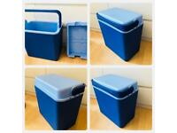 cooler box coolbox Large 24L Cooler Box Camping Beach Picnic Ice Food Insulated Travel Cool Box Bag