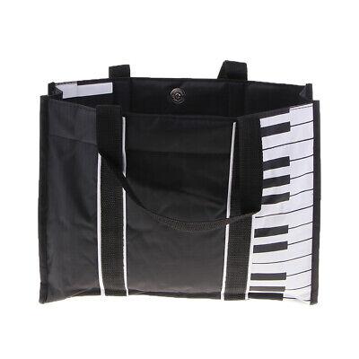 e38a4accb2b Piano Keyboard Handbag Shoulder Bag Messenger Tote Sheet Music Storage Bag