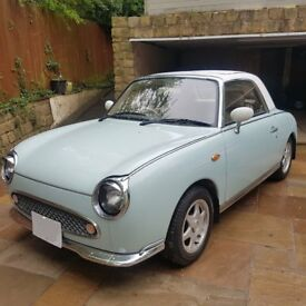 Great looking figaro in Pale aqua, full mot, new brakes front and rear, new Battery low miles.