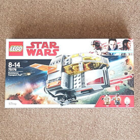 Lego 75176 Star Wars Resistance Transport Pod - Brand New