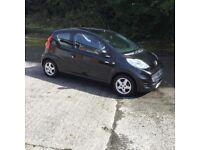 Peugeot 107 Millesim 200 '60 3door in black fsh ideal first car cheap tax damaged repairable