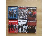 Entourage Series 1-6 DVD's