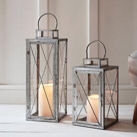 NEW Two Lantern Lights for Garden