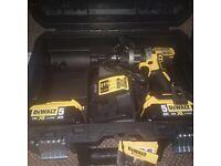 DEWALT 18V XR LI-ION BRUSHLESS COMPACT HAMMER DRILL DRIVER DCD796P2