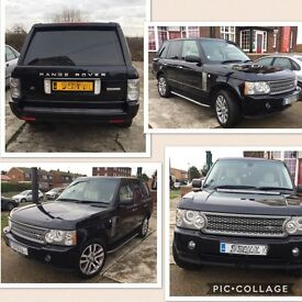 LAND ROVER RANGE ROVER WESTMINSTER 3.6 TDV8 AUTOMATIC 4X4 TURBO DIESEL
