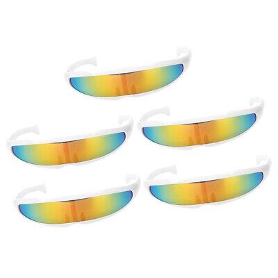he Zyklop gespiegelte Visor Sonnenbrille Brille Kinder (Futuristische Brillen)