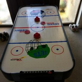 Power Puck Air Hockey Table