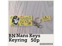 BNWT Nans Keys Keyring