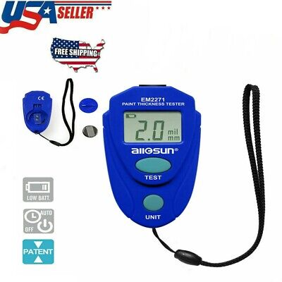 Em2271 Lcd Digital Painting Thickness Meter Car Coating Thickness Gauge Tester