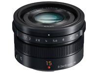 Panasonic Leica DG Summilux 15mm F1.7 Aspherical Lens
