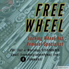 Freewheel - Locking Wheel Nut Removal Specialist.
