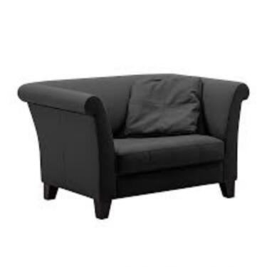Loveseat sessel  Exklusives Sofa XXL Loveseat Sessel Machalke >>RITZ<< (schwarz) in ...