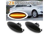 Car Indicator Lights Blinkers for Side Wing of Toyota Yaris Auris Corolla RAV4 Mini Cooper NEW